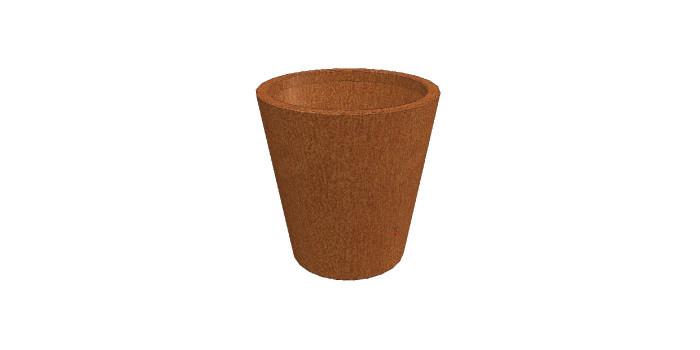 Bloembak boombak plantenbak conisch corten staal diron tuinstaal - Cortenstaal fabrikant ...